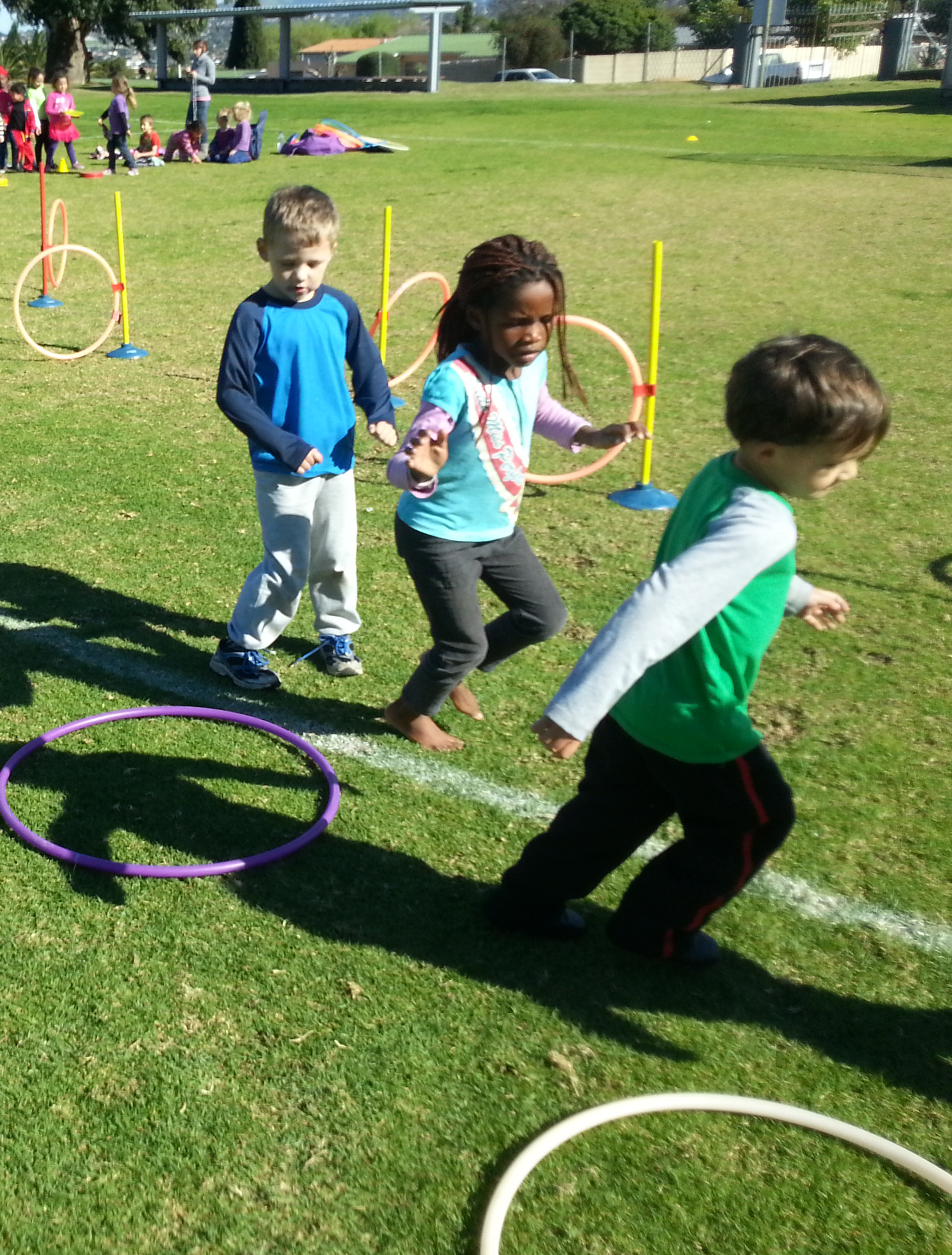 Physical education programmes from KinetiX at a primary school